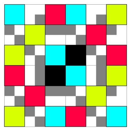 Raised Squares 2