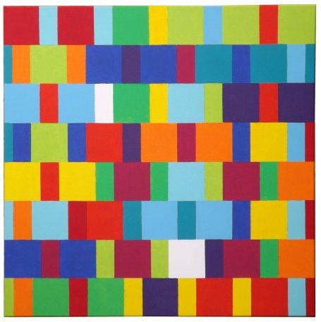 Tessellation: Squares & Half-squares
